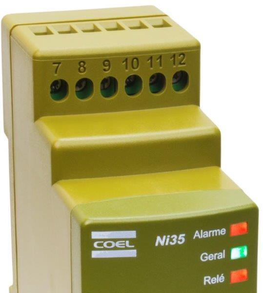 Controlador de nivel industrial