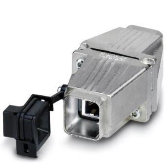 Tomada e conector industrial